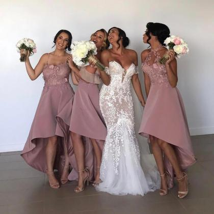 Bridesmaid dresses 2018 lace