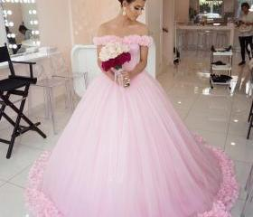 Wedding Dress Pink, ..