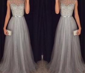 Silver Prom Dresses,..