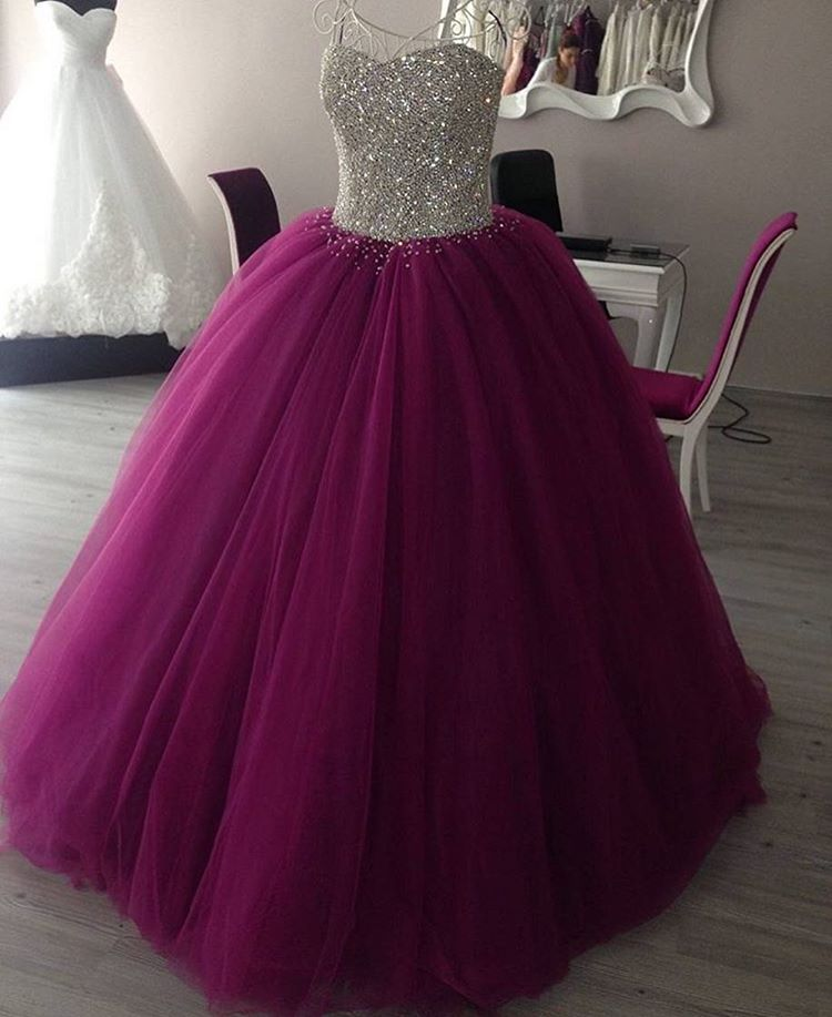 Prom Dress Ball Gown, Purple Princess Ball Gowns 2016 ,Sweet 16 ...