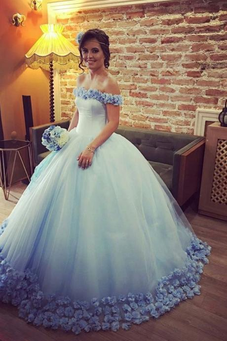 Quinceanera Dresses,Flowers Sweet 16 Dresses,Ball Gowns Wedding Engagement Dresses, Wedding Photography Dresses,Ball Gowns Wedding Dresses 2017